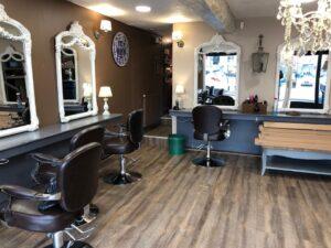 Aménagement salon de coiffure Rouen