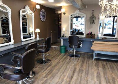 Aménagement salon de coiffure à Rouen
